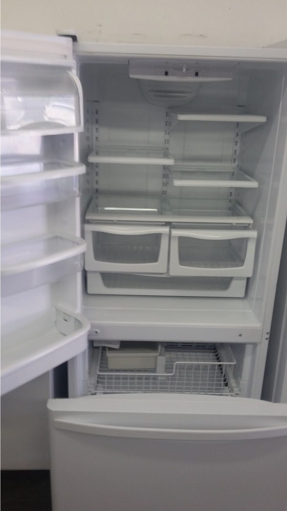 Kenmore 30 Quot White Bottom Freezer Refrigerator Out Of