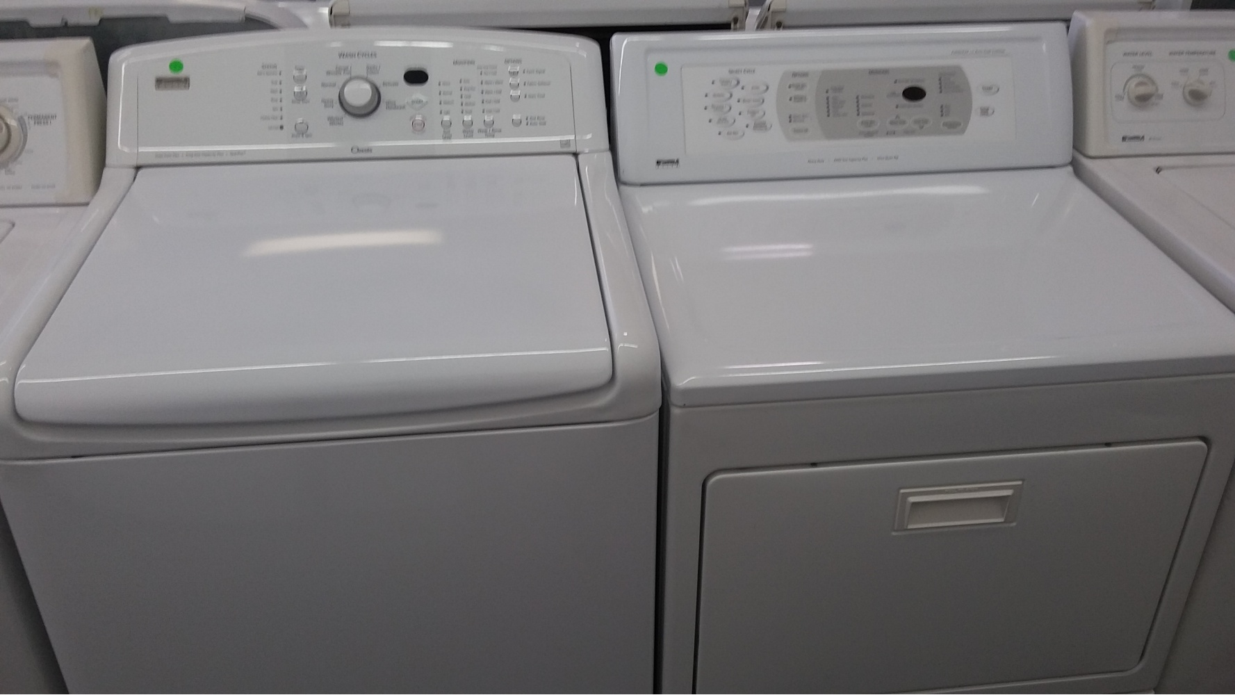 Kenmore Elite White High Efficiency Top Load Washer W Gas
