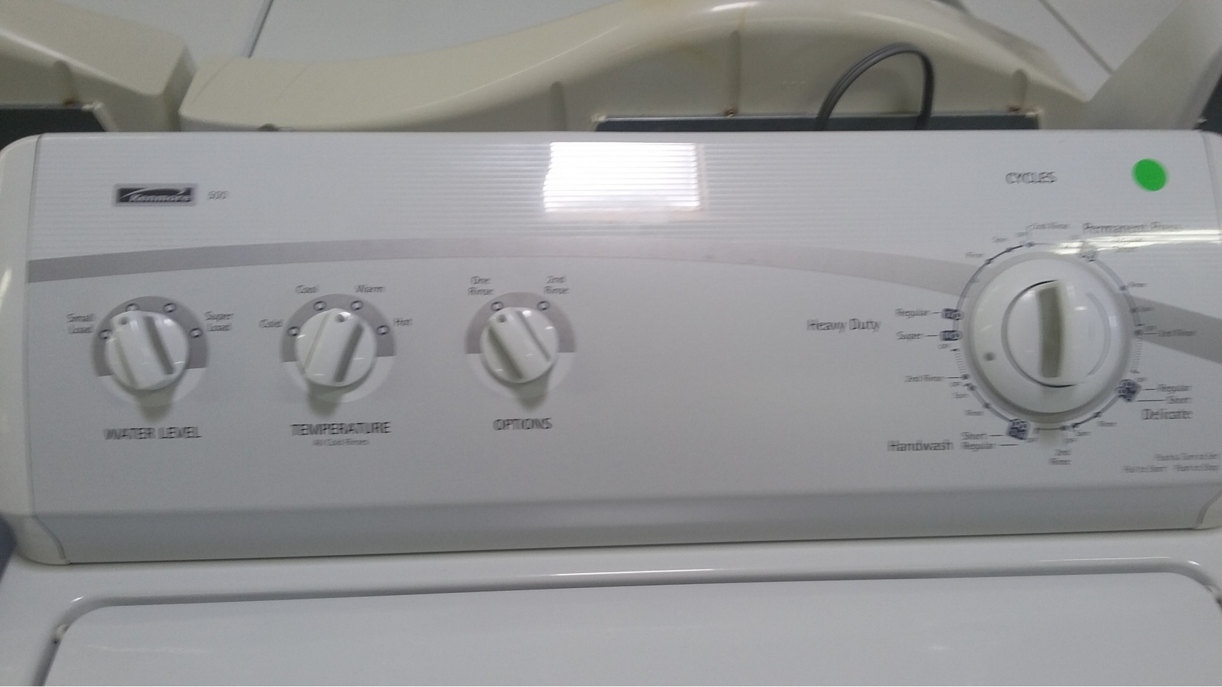 Kenmore 500 Series Washer W Gas Dryer Set Out Of Stock