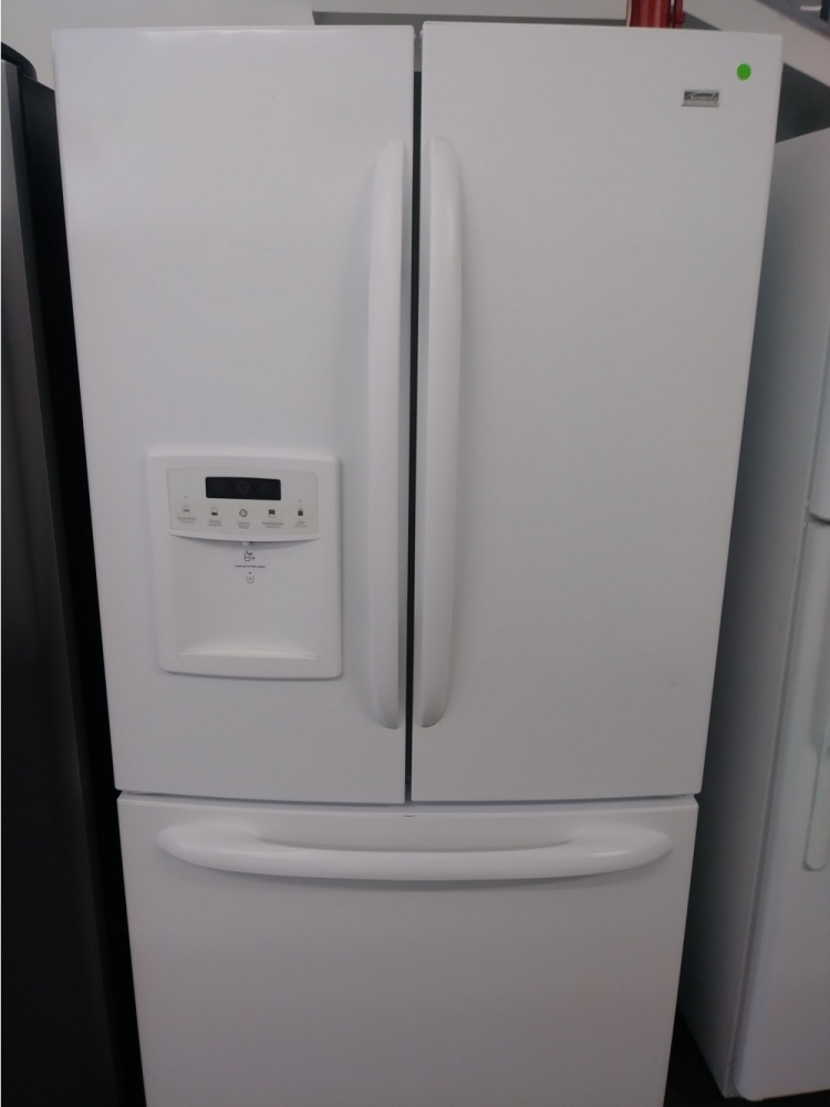 Kenmore Elite White 36 Counter Depth French Door Refrigerator Out