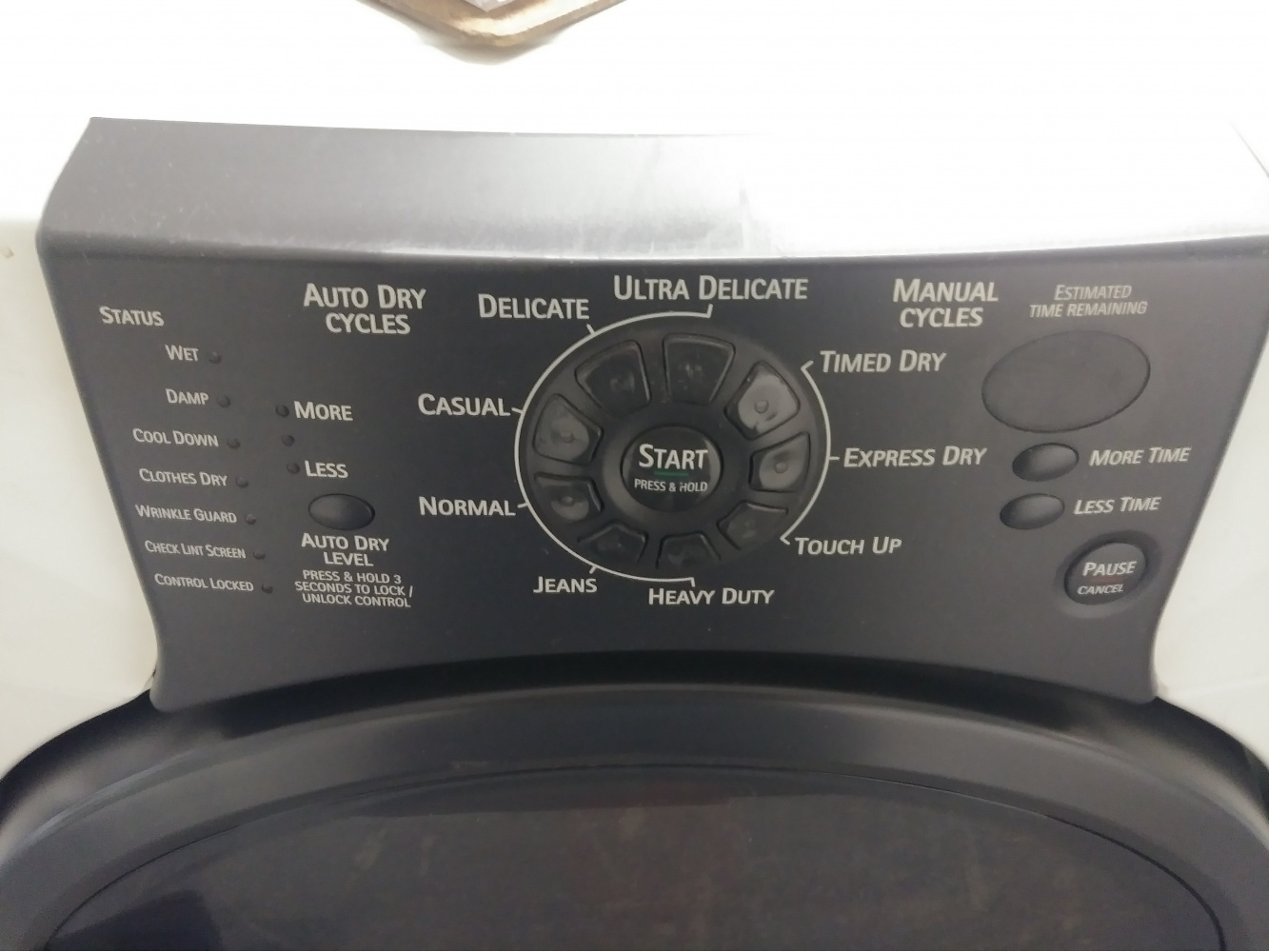 KENMORE ELITE HE3 FRONT LOAD BISQUE GAS DRYER - Kimo's