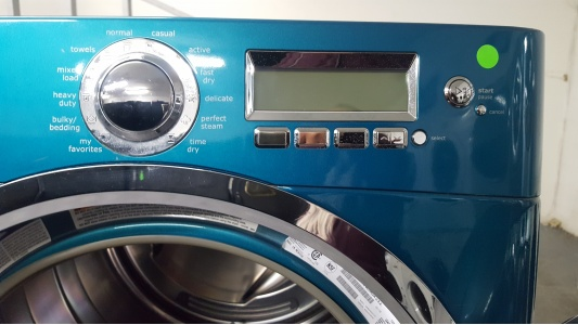 Electrolux Turquoise Front Load Washer And Gas Dryer W