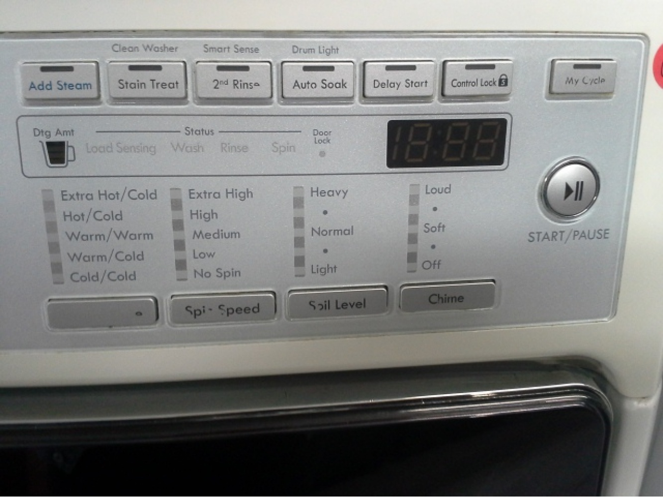KENMORE ELITE WHITE FRONT LOAD WASHER **OUT OF STOCK