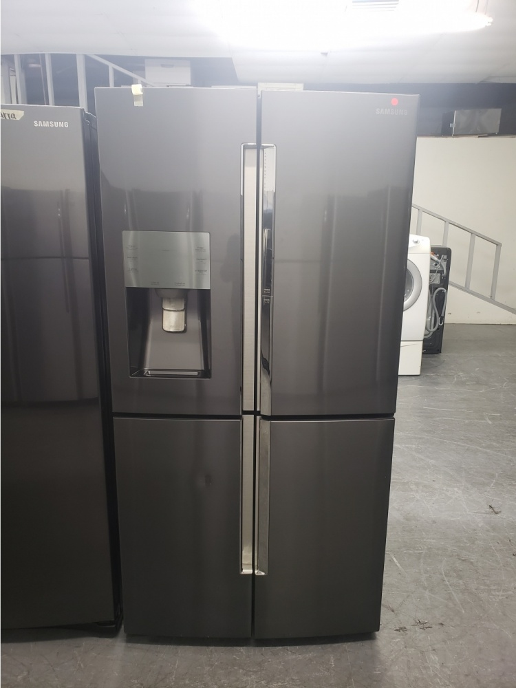Samsung Black Stainless French 5 Door 36 Fridge Out Of
