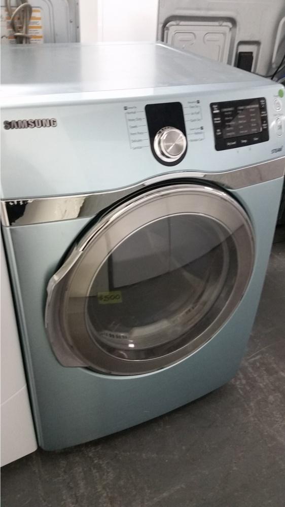 Samsung Baby Blue Gas Dryer Kimo S Appliances Van Nuys