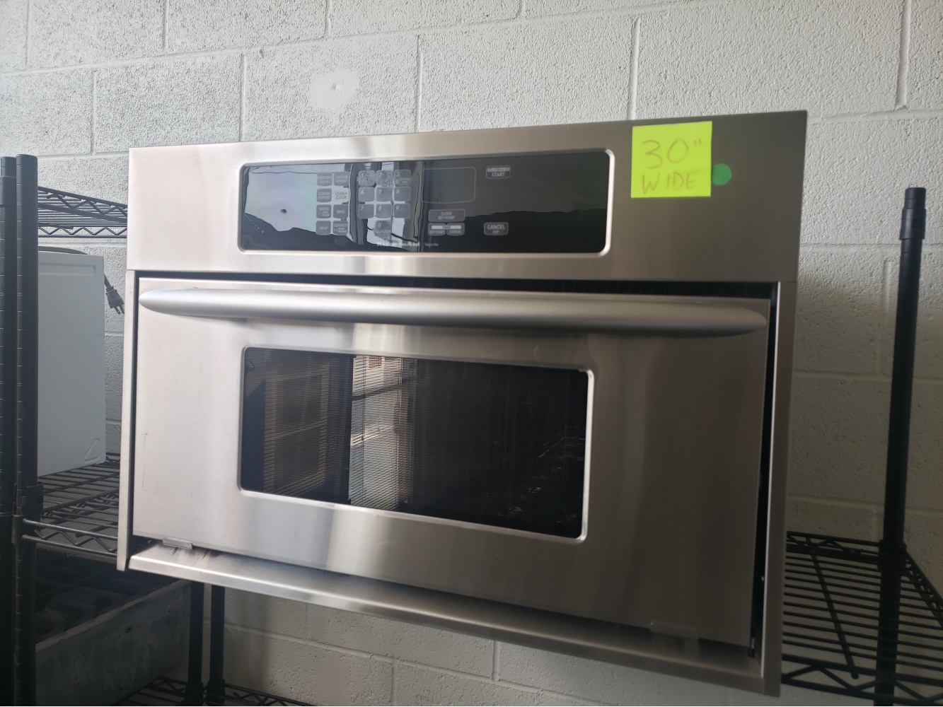 Kitchenaid Superba 30 Built In Microwave Out Of Stock Kimo S Appliances Van Nuys