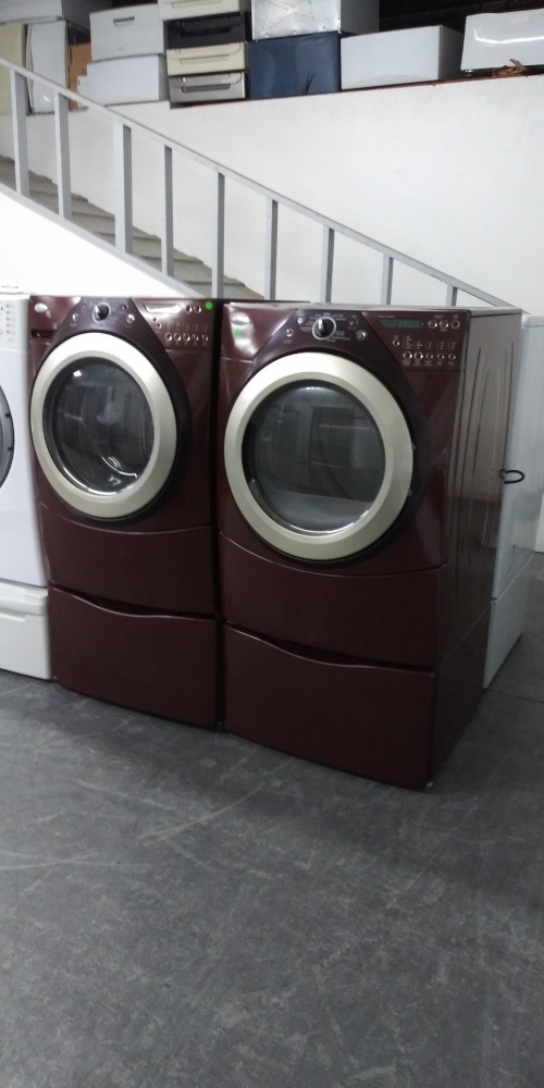 Whirlpool Duet Brown Front Load Washer