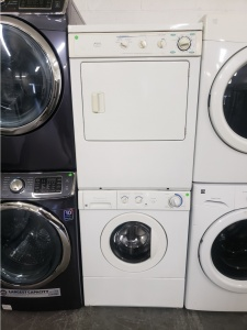frigidaire gallery 31 cu ft stacked washer and dryer