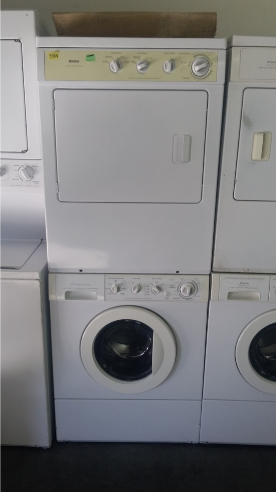 Kenmore White 3 1 Stackable 220v Washer Dryer Kimo S