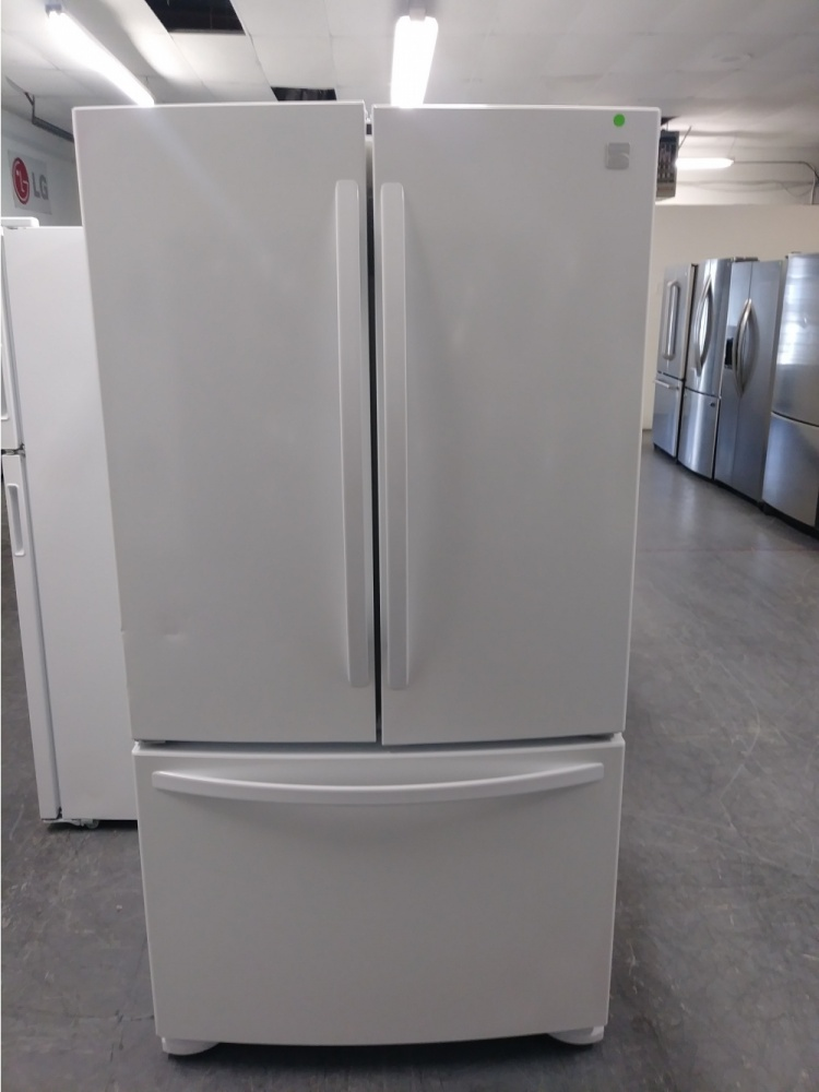 Kenmore 36 Quot White French Door Refrigerator Kimo S