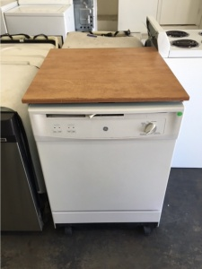 ge portable dishwasher out of stock