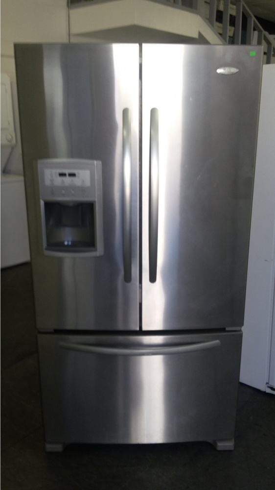 Whirlpool 36 Quot Stainless Steel French Door Refrigerator
