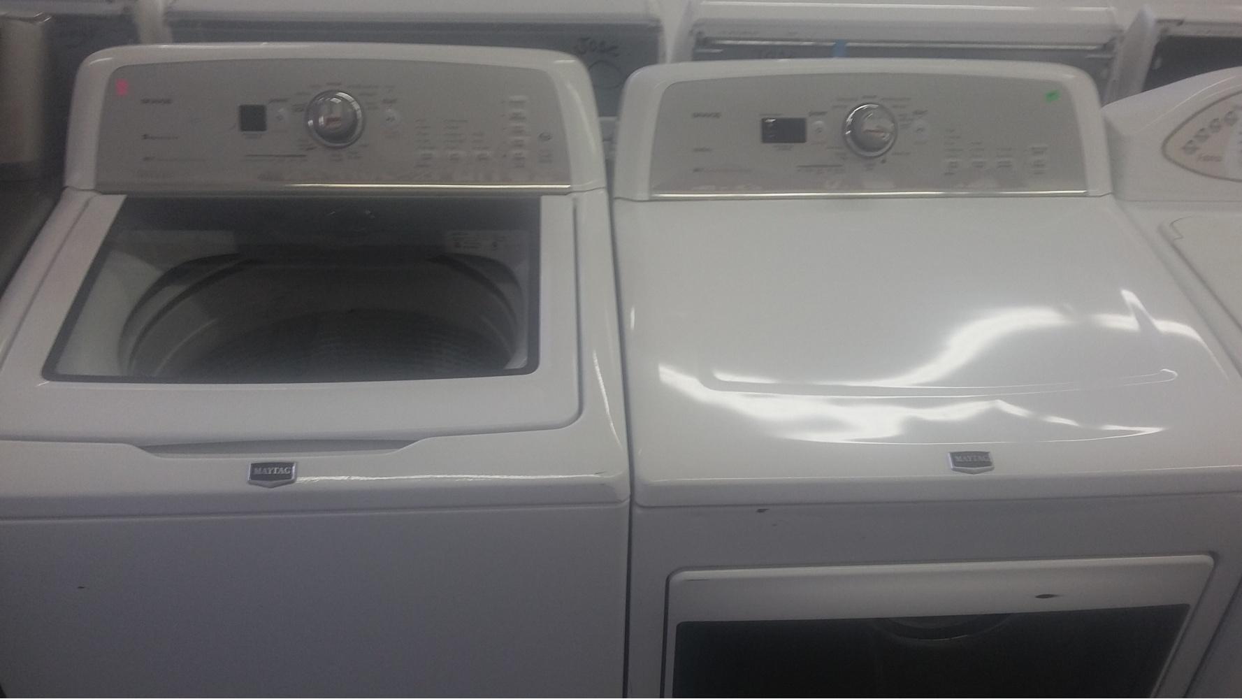 Maytag Bravos High Efficiency Top Load Washer W Gas Dryer