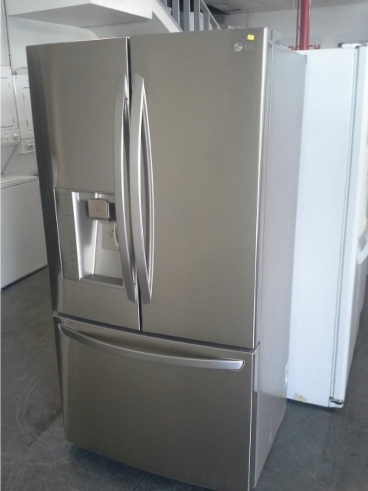 Lg Stainless Steel French Door Counter Depth Fridge Out