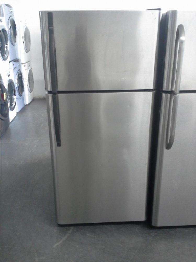 Kenmore Stainless Steel Top Mount Refrigerator W Black
