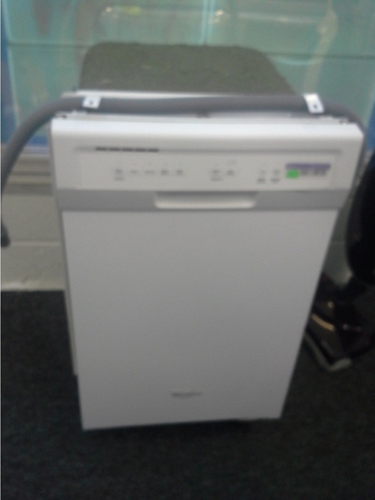 Whirlpool White Compact 17 5 Built In Dishwasher W