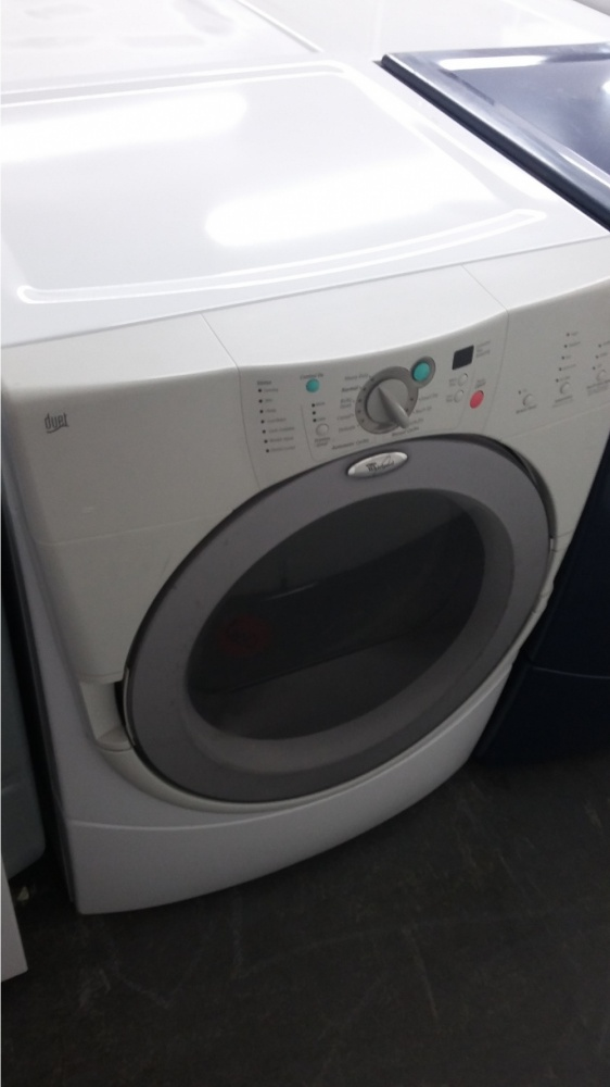 Whirlpool Duet Offwhite Grey Front Load Gas Dryer Kimo S