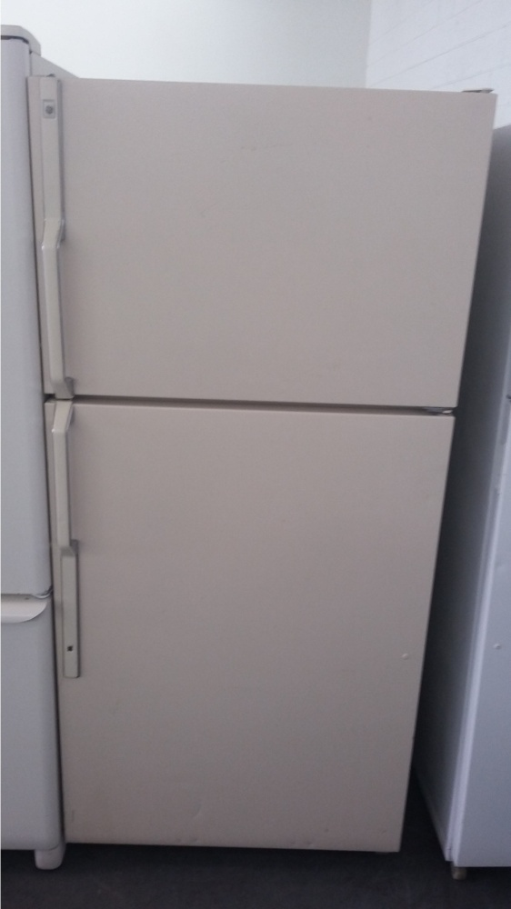 Ge 30 Quot Bisque Top Mount Refrigerator Out Of Stock Kimo