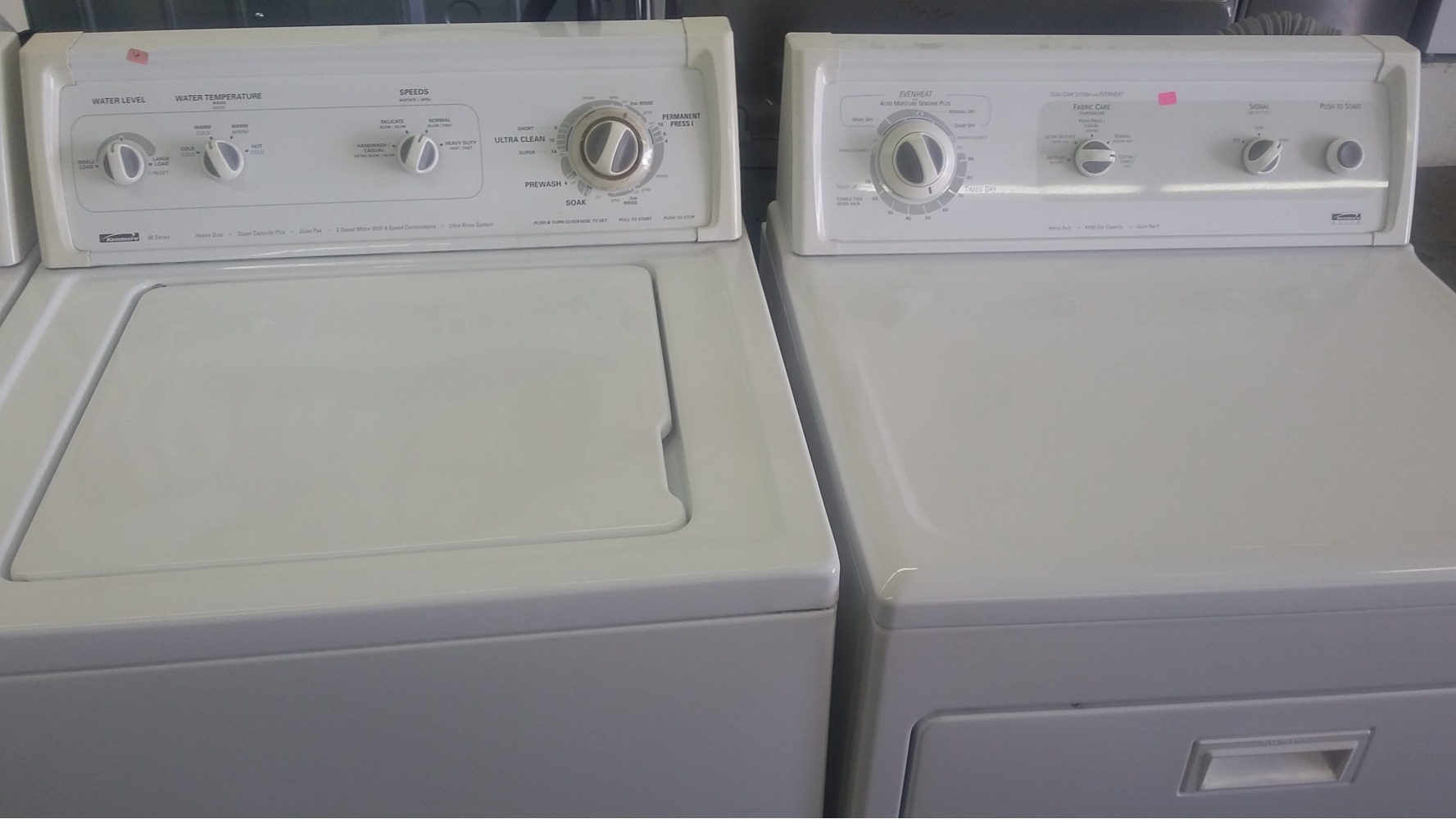 Kenmore 80 Series Washer W Kenmore Elite Gas Dryer Out