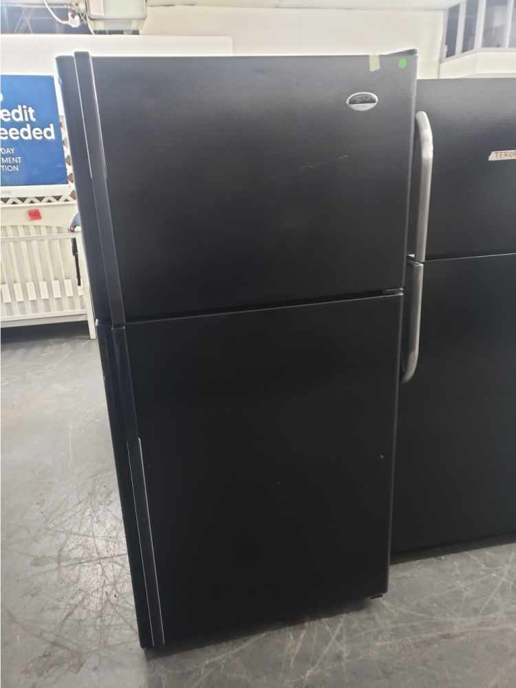 Ge Arctica Black Top Mount Refrigerator Kimo S