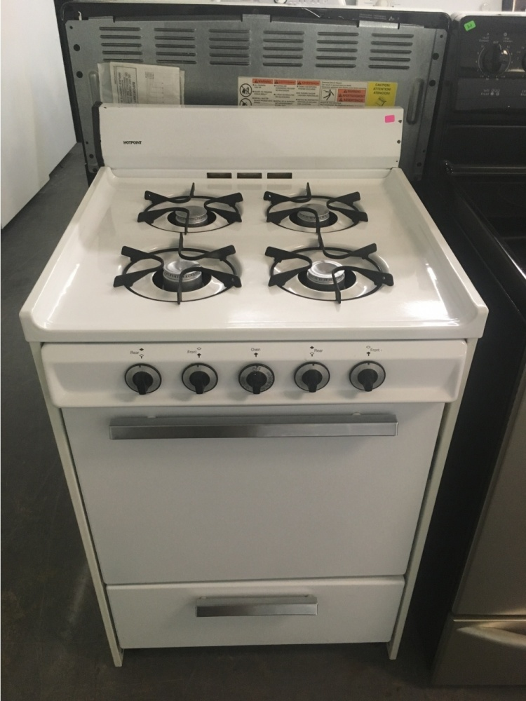 Hotpoint 24 Quot Free Standing Gas Range Out Of Stock Kimo