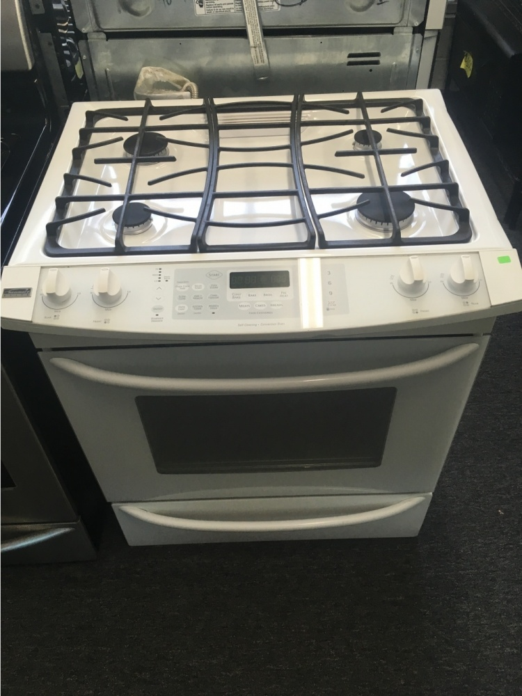 Kenmore Elite 30 Quot White Slide In Gas Range Out Of Stock