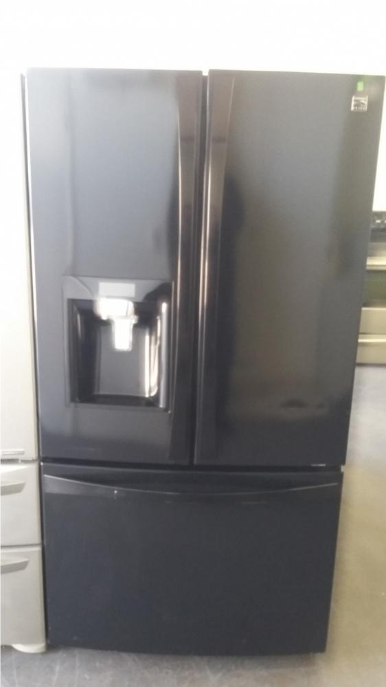 Kenmore Elite 36 Quot Black French Door Refrigerator Kimo S