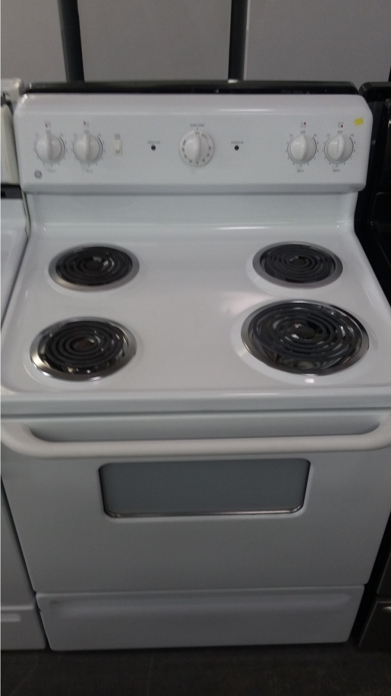 Ge 30 Quot White 220v Electric 4 Burner Range Out Of Stock