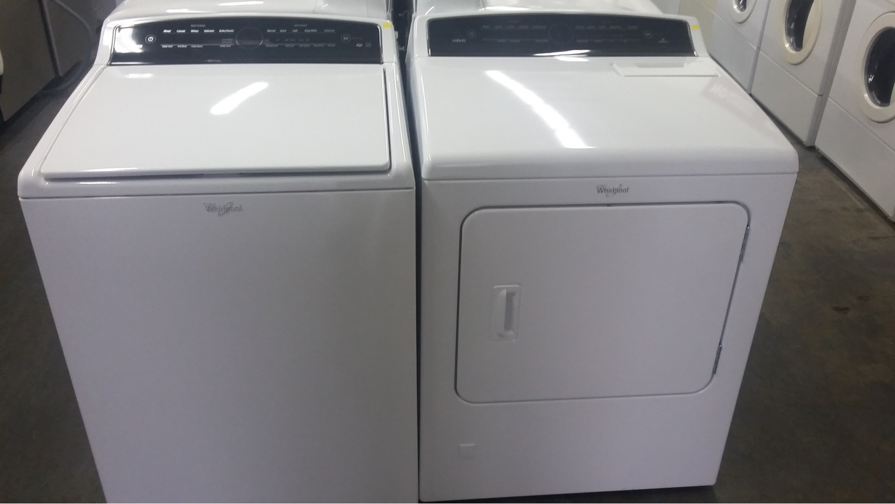 Whirlpool Cabrio Washer And dryer instruction manual Machine
