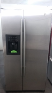 Ge Profile Arctica 36 Quot Stainless Counter Depth Side By