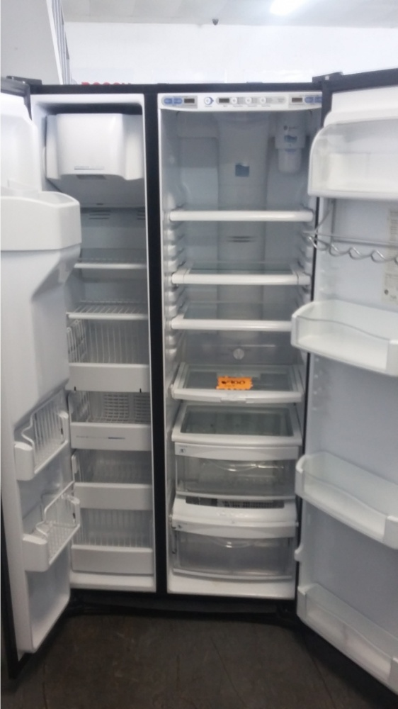"""Ge Appliance Warranty >> GE PROFILE ARCTICA 36"""" STAINLESS COUNTER DEPTH SIDE BY SIDE REFRIGERATOR *OUT OF STOCK* - Kimo's ..."""