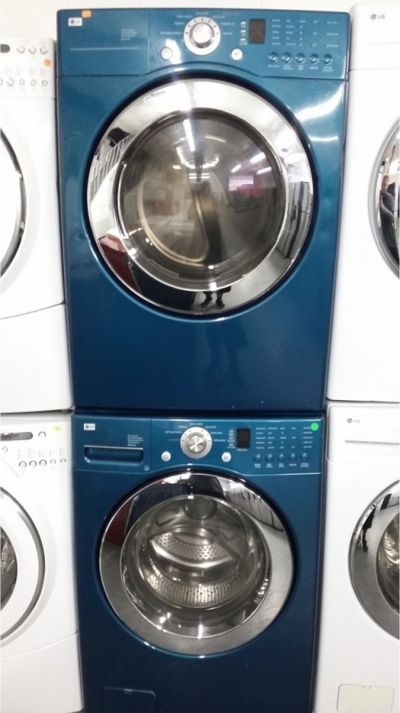 Lg Teal Front Load Washer W Gas Dryer Set Out Of Stock