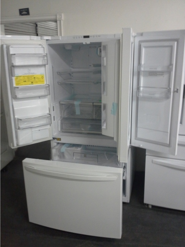 Kenmore Dishwasher Reviews >> KENMORE ELITE WHITE FRENCH DOOR FRIDGE WITH GRAB 'N' GO ...