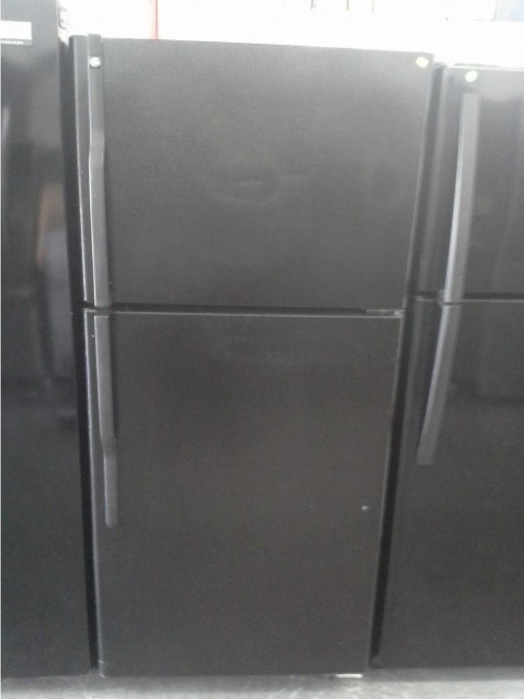 Ge 30 Quot Black Top Mount Refrigerator Kimo S Appliances