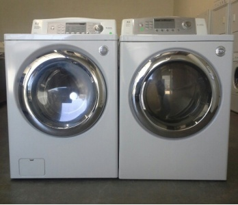 Lg Tromm White Front Load Washer W Gas Dryer Set Out Of Stock