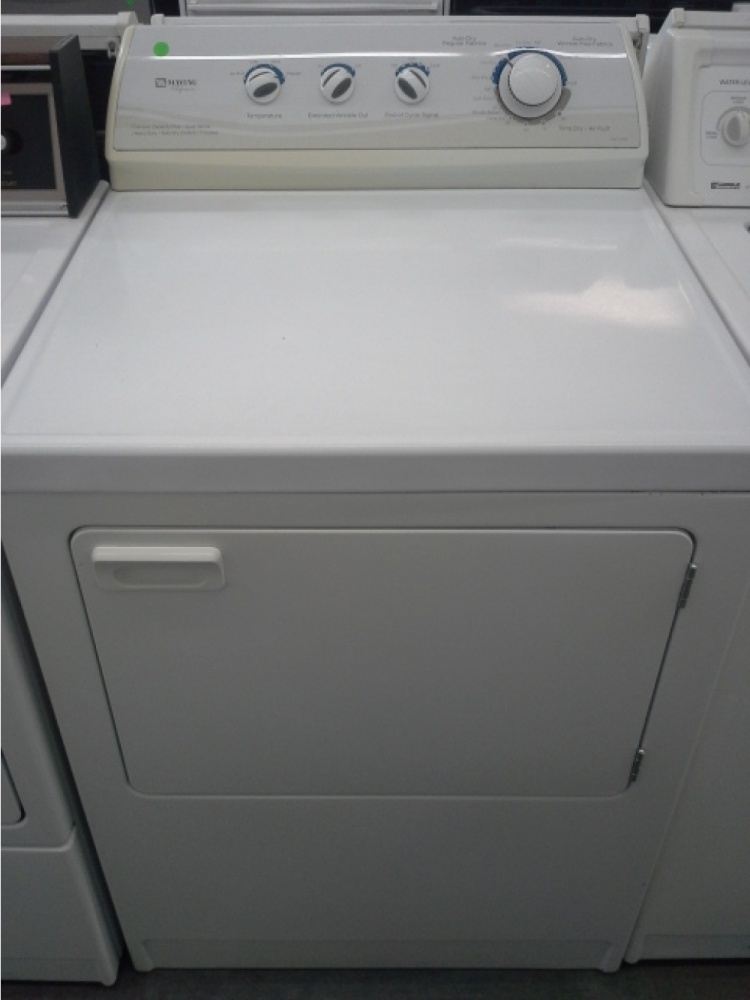 Maytag Performa White Gas Dryer Out Of Stock Kimo S